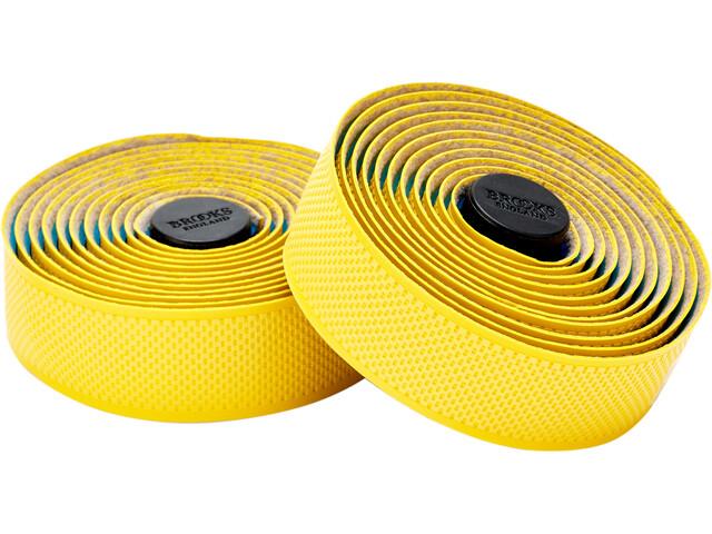Brooks Cambium Rubber Cinta de manillar, yellow